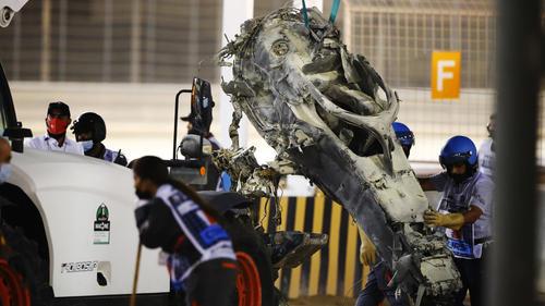 Das Halo hat Romain Grosjean das Leben gerettet