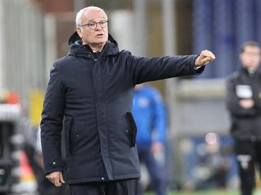 Claudio Ranieri en un partido de esta temporada.