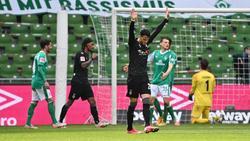 Gladbach gewinnt, Werder ist am Boden