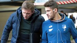 Bald gemeinsam beim FC Bayern? Julian Nagelsmann (l.) und Andrej Kramaric