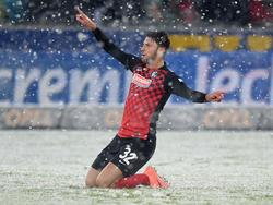 Jubel im Schnee