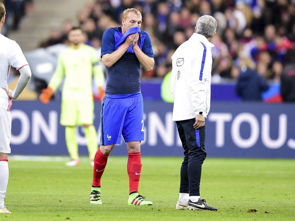 Jérémy Mathieu bangt um seine EM-Teilnahme