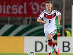 Joshua Kimmich wurde 2014 mit dem U19-DFB-Nachwuchs Europameister