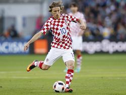 Luka Modric en la pasada EURO con Croacia (Foto: Getty)