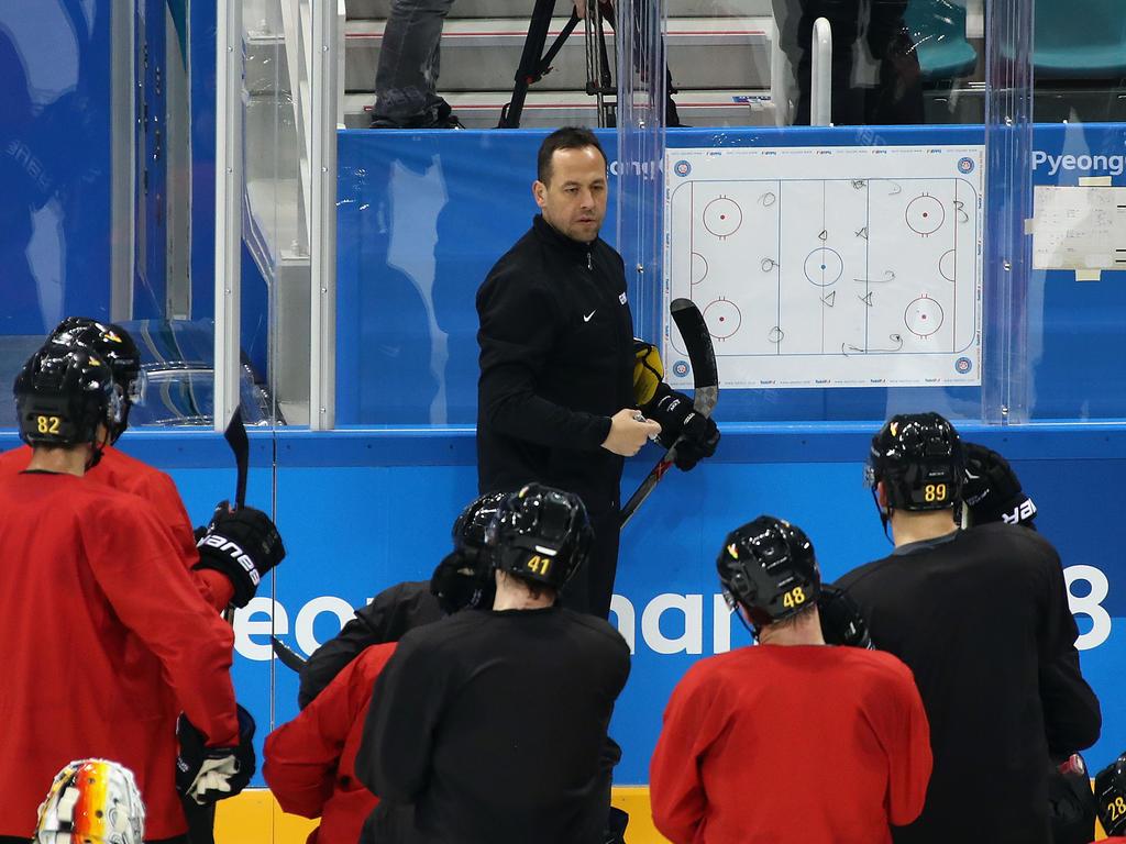 Bundestrainer Marco Sturm war nach der Auftakt-Pleite gegen Finnland enttäuscht