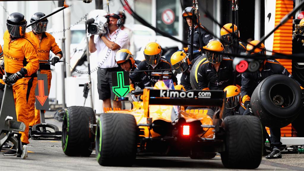 McLaren wechselte zu einem Renault-Motor