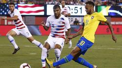 Brasilien schlägt die USA 2:0