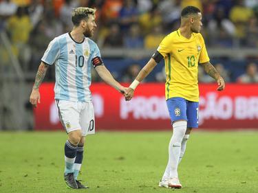 Messi y Neymar representan con su fútbol a dos países antagónicos. (Foto: Getty)