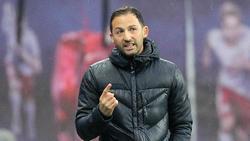 Schalke-Coach Domenico Tedesco war mit dem Remis zufrieden