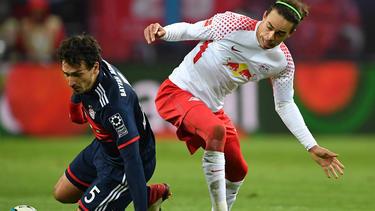 Yussuf Poulsen spottet über Innenverteidiger Mats Hummels vom FC Bayern