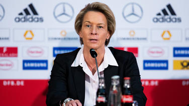 Martina Voss-Tecklenburg geht optimistisch ins WM-Jahr