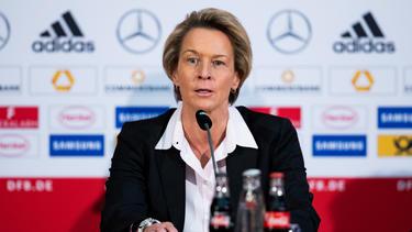 Martina Voss-Tecklenburg schaute Jürgen Klopp bereits über die Schulter