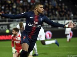 Kylian Mbappé anotó su diana en el minuto 70. (Foto: Getty)