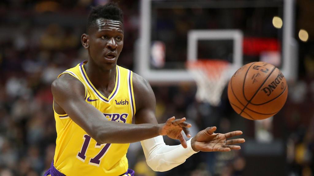 Isaac Bonga spielt seit dieser Saison in der NBA