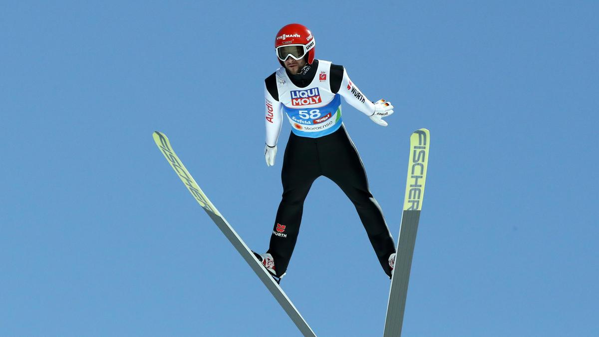 Markus Eisenbichler flog am Monsterbakken auf Platz fünf