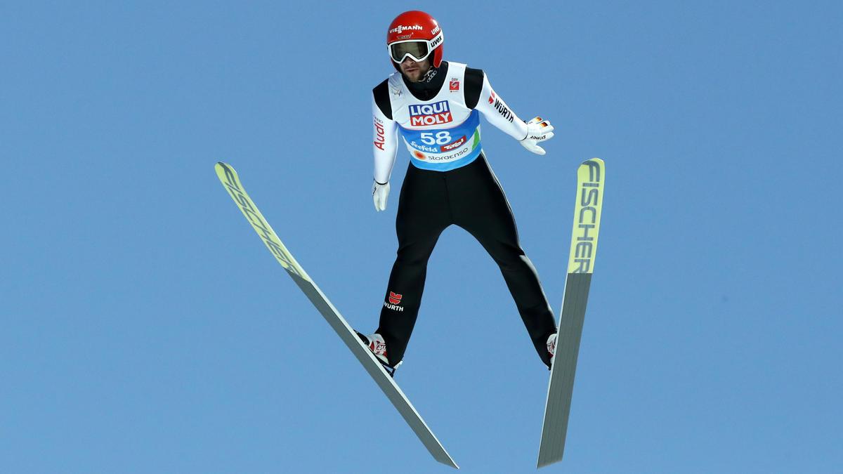 Markus Eisenbichler hatte in Norwegen mit starkem Wind zu kämpfen