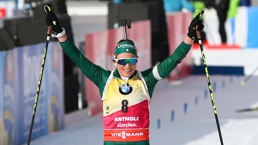 Dorothea Wierer gewinnt erstmals den Biathlon-Gesamtweltcup