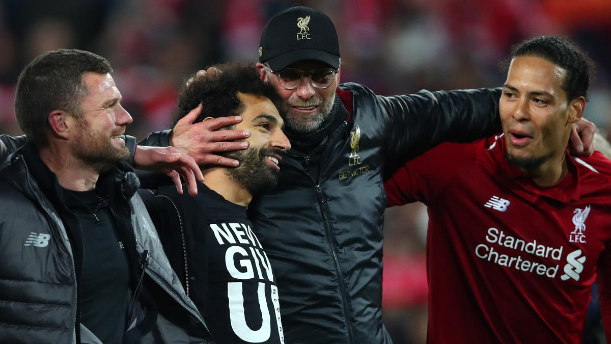 Liverpool Feiert Klopp