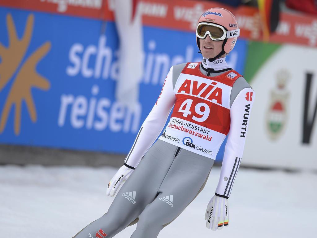 Skispringer Severin Freund startet beim Weltcup in Klingenthal