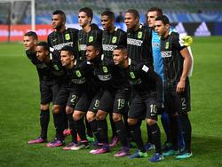 Formación de Atlético Nacional. (Foto: Getty)