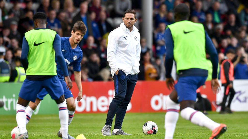 Zurück an alter Wirkungsstätte: Frank Lampard (m.)