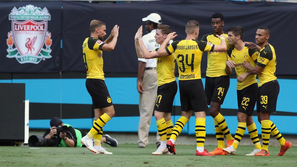 Der BVB gewann im Vorjahr mit 3:1 gegen den FC Liverpool