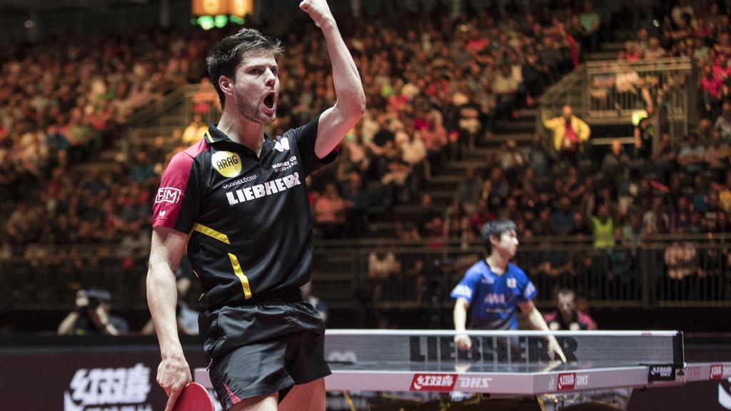 Dimitrij Ovtcharov steht in Tschechien im Finale