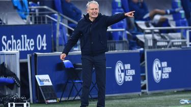 Christian Streich war mal ein heißer Trainer-Kandidat beim FC Schalke