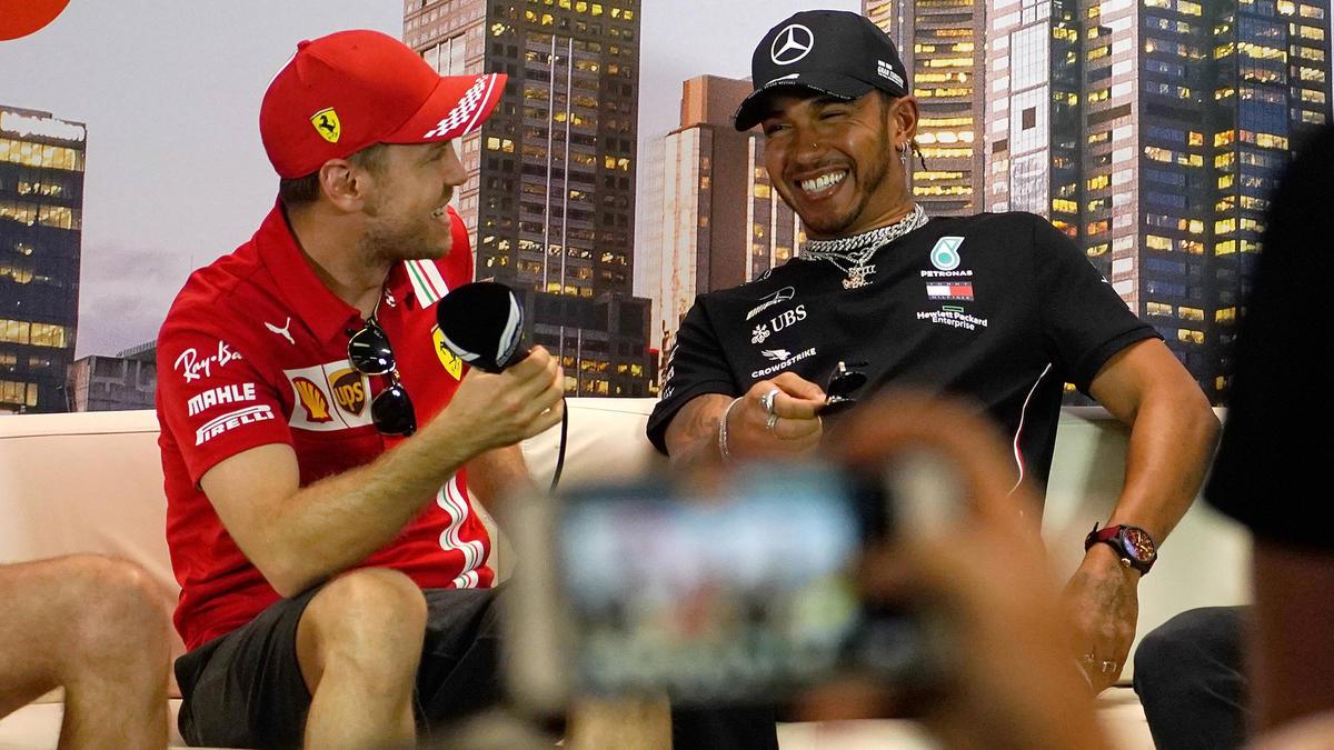 Fahren Sebastian Vettel und Lewis Hamilton irgendwann in einem Team?