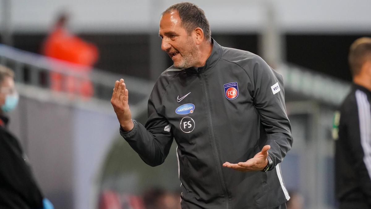Für Frank Schmidt und Heidenheim platzte der Bundesliga-Traum