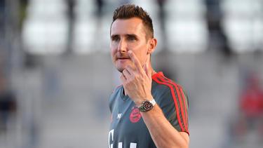 Miroslav Klose startet beim FCBayern als Co-Trainer