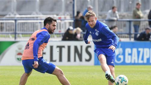 Teuchert (r.) und Insua verlassen den FC Schalke 04