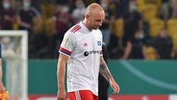 Der HSV muss ohne Toni Leistner auskommen