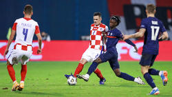 Francia volvió a imponerse a Croacia en partido oficial.