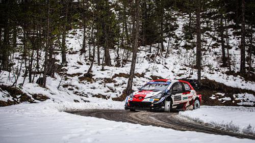 Sébastien Ogier führt die Rallye Monte Carlo an