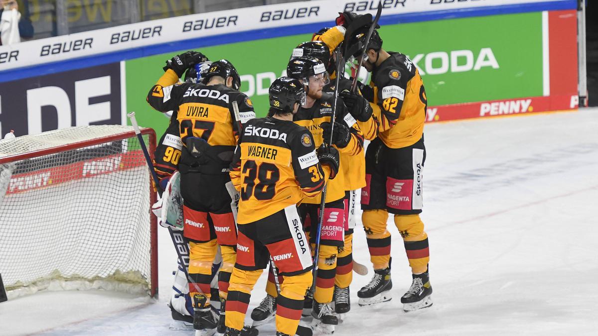 Erster Vorbereitungssieg für Deutschlands Eishockey-Herren
