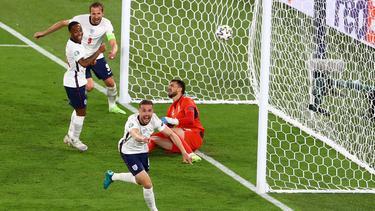 Auch Liverpools Henderson traf bei Englands Kantersieg