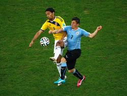 Uruguay y Colombia llegan con tres puntos cada una al duelo de Montevideo. (Foto: Getty)
