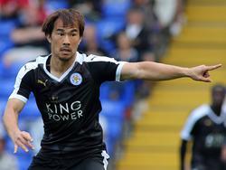 Shinji Okazaki will bei Leicester in der Premier League den Durchbruch schaffen