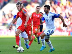 Bale im Dribbling