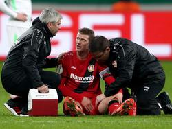 Lars Bender droht mit einer Muskelverletzung auszufallen