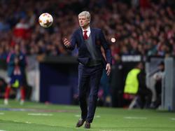 Arsène Wenger machte sein letztes Spiel auf europäischer Bühne für den FC Arsenal