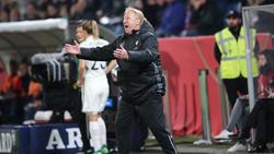 Horst Hrubesch stand gegen Spanien ein letztes mal für den DFB an der Seitenlinie