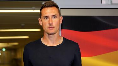 Sieht ein Nachwuchsproblem in der deutschen Offensive: Miroslav Klose