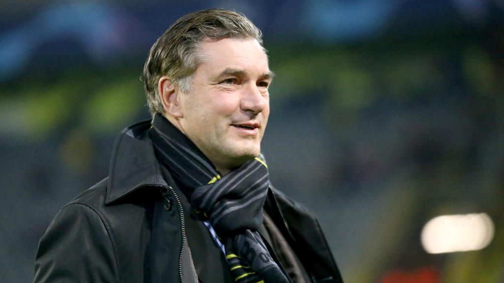 Michael Zorc ist gespannt auf das Achtelfinale der Champions League