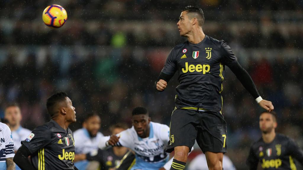 Cristiano Ronaldo hat Juventus Turin den nächsten Ligasieg gesichert