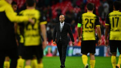Peter Bosz wurde beim BVB nach wenigen Monaten im Amt entlassen