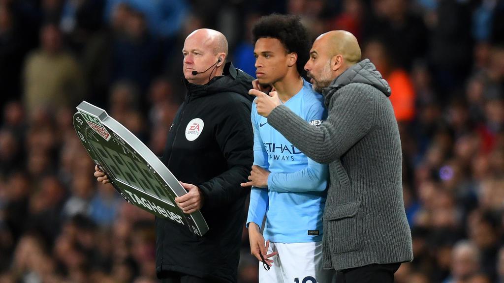 Bleibt Leroy Sané bei Manchester City?