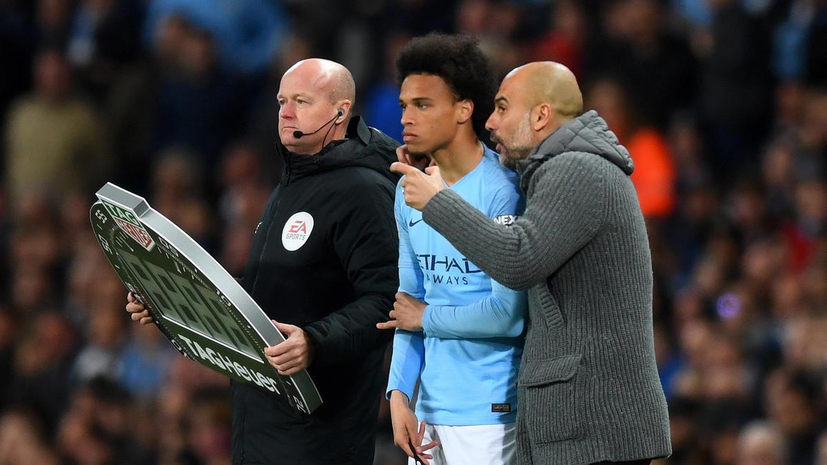 Leroy Sané von Manchester City wird nicht nur vom FC Bayern umworben