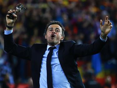 Luis Enrique quiere repetir el triunfo en la Copa del Rey con el Barcelona. (Foto: Getty)